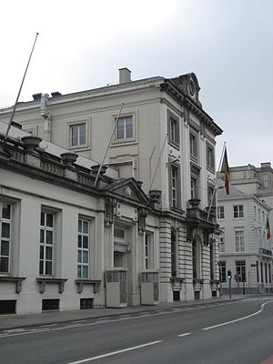 Prime Minister of Belgium - Image: 16 rue de la loi Building
