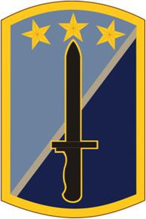 170th Infantry Brigade (United States) - Shoulder sleeve insignia