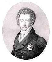 Großherzog Georg. Stahlstich, vor 1837 (Quelle: Wikimedia)