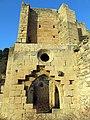 179 Ruïnes del monestir de Vallsanta (Guimerà), absis, façana sud.jpg