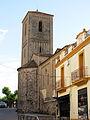 17 Campanar i absis de Sant Esteve, des del carrer del Raval (Parets del Vallès).JPG