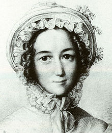 Lea Mendelssohn Bartholdy, gezeichnet von ihrem Schwiegersohn Wilhelm Hensel (1823) (Quelle: Wikimedia)