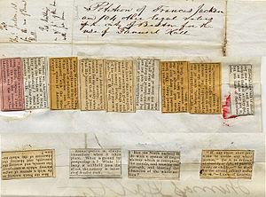 Francis Jackson (abolitionist) - Image: 1842 Francis Jackson petition 2 Boston City Archives