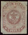 1859 1Peso Confed.Granadina unused Mi5.jpg