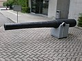 1870s 5 inch BL Mk I gun at HKMCD entrance side.JPG