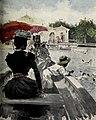 1899-08-19, Blanco y Negro, En el estanque del Retiro, Huertas (cropped).jpg