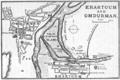 1905 map Khartoum and Omdurman by Thomas Cook.png