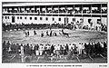 1907-12-07, Blanco y Negro, La becerrada de los artilleros en el cuartel de Getafe, Goñi.jpg