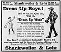 1916 - Shankweiler & Lehr Newspaper Ad Allentown PA.jpg
