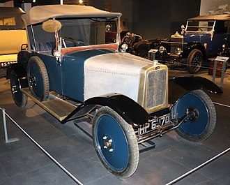 Albatros (automobile) - 1923 Albatros