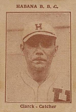 Danny Clark (baseball) - Image: 1923 Tomas Gutierrez Danny Clark