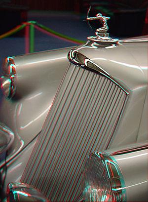 Pierce Silver Arrow - 3D image of a Silver Arrow
