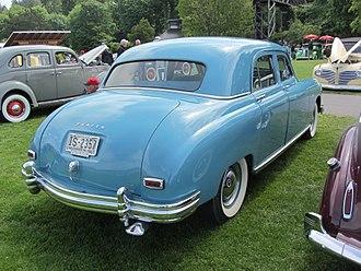 Ponton (car) - The 1946 introduced Frazer