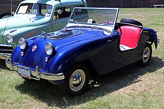 Crosley - The Crosley Hotshot, introduced in 1949, was America's first post-war sportscar