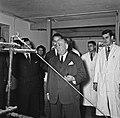 1957 Visite du ministre de l'agriculture Mr ANDRE DULIN au CNRZ-54-cliche Jean Joseph Weber.jpg