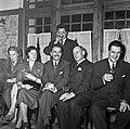 1958 visite d'une délégation INRA au Haras du Pin Cliché Jean Joseph Weber-51.jpg