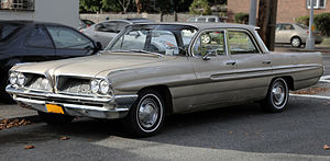 Pontiac Catalina - 1961 Pontiac Catalina 4-door sedan