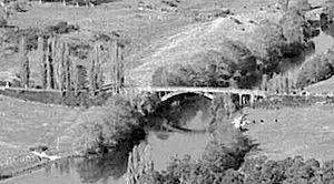 Horotiu - 1921 bridge in 1963