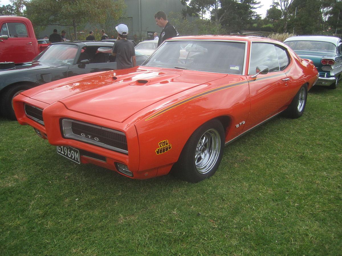 File 1969 Pontiac Gto Judge Hardtop Jpg Wikimedia Commons