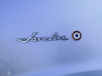 AMC Javelin - AMC Javelin badge