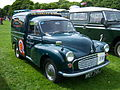 1971 Morris LCV Minor (MEF 745F) panel van, 2012 HCVS Tyne-Tees Run.jpg