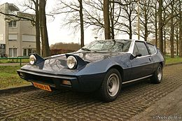 Una Lotus Elite Type 75 del 1978