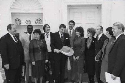 1981 Clemson Tigers football team meets Ronald Reagan