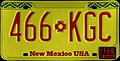 1990 New Mexico license plate 466*KGC passenger stamped on trailer base.jpg