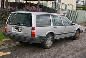 Volvo 900 Series - Volvo 940 Estate - rear