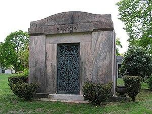 Ed Barrow - Ed Barrow's mausoleum in Kensico Cemetery