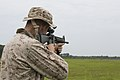 2-2 Fox trains with weapons, prepares for Unit Deployment Program 150709-M-CU214-014.jpg