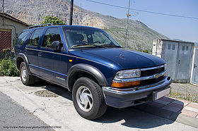 Image illustrative de l'article Chevrolet S-10 Blazer