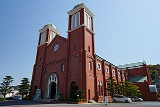 Immaculate Conception Cathedral, Nagasaki Church in Nagasaki, Japan