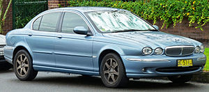 Jaguar X-Type - Jaguar X-Type Saloon