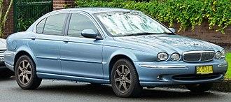 Jaguar X-Type - Jaguar X-Type Saloon