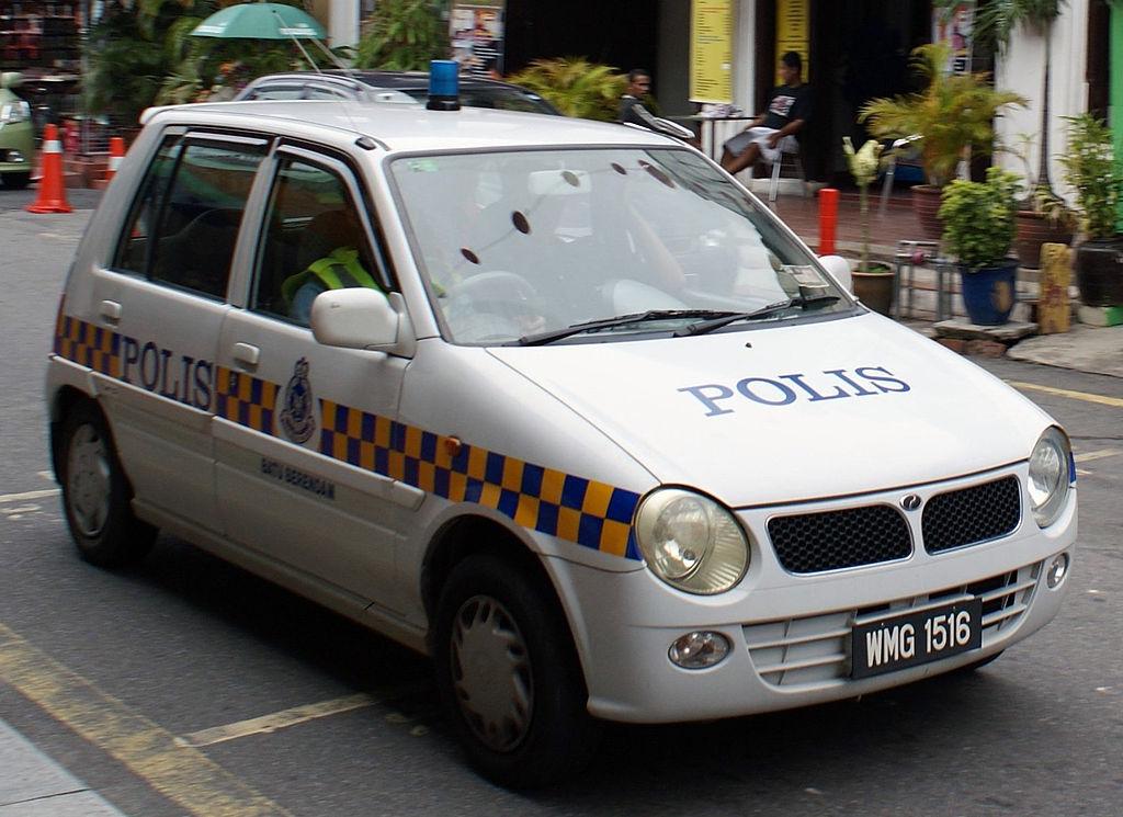 File 2005 Perodua Kancil Pdrm Police Car In Malacca
