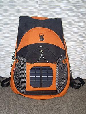 Solar backpack - Solar backpack