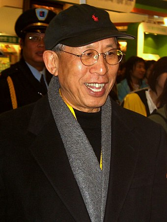 Wang Tuoh, a Taiwanese writer, literary critic and politician 2008TIBE Day1 Hall1 Opening TouhWang.jpg