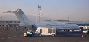 Fars Air Qeshm - A Fars Air Qeshm McDonnell Douglas MD-83 at Tehran Mehrabad International Airport, Iran. (2010)