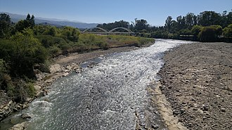 Tarija Department - Nuevo Guadalquivir River near the city of Tarija