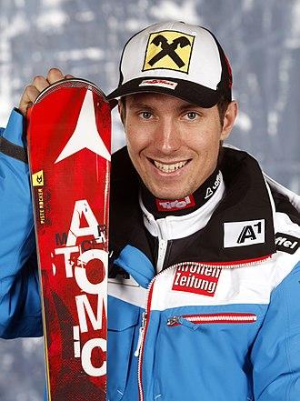 2013–14 FIS Alpine Ski World Cup - Image: 20131011 HIRSCHER MARCEL Einkleidung (3)
