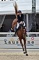 2013 Longines Global Champions - Lausanne - 14-09-2013 - Charlotte Mordasini et Romane du Theil 2.jpg