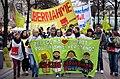2014-03-15 Demonstration der Ver.di Jugend in der Georgstraße in Hannover für die Übernahme der Auszubildenden durch die Klinikum Region Hannover GmbH (KRH), die Krankenhäuser der Region Hannover.jpg