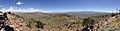 "2014-06-13 12 24 32 Panorama east to south from the summit of ""E"" Mountain in the Elko Hills of Nevada.JPG"