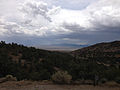 2014-07-28 13 17 13 View southwest from the fossil shelter in Berlin–Ichthyosaur State Park, Nevada.JPG
