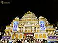 2014 Durga Puja Bagbazar Pandal, Kolkata.jpg