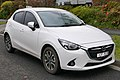 2014 Mazda2 (DJ) Genki hatchback (2015-08-07) 01.jpg