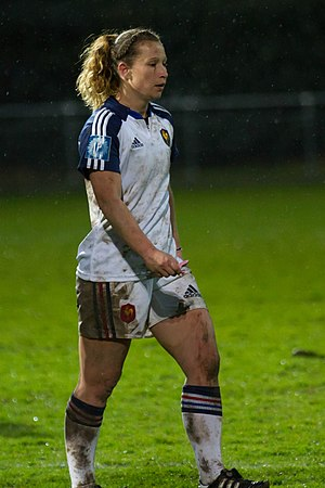 Jennifer Troncy - Image: 2014 Women's Six Nations Championship France Italy (109)