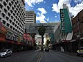 2015-11-04 11 10 31 View south along Casino Center Boulevard between Ogden Avenue and Fremont Street in downtown Las Vegas, Nevada.jpg