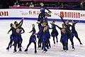 2015 Grand Prix of Figure Skating Final Team Rockettes IMG 9158.JPG